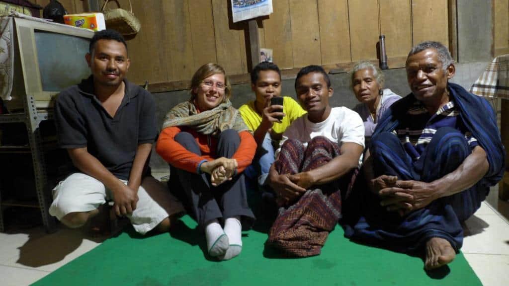 V indonézskej rodine v dedinke Pemo na Florese