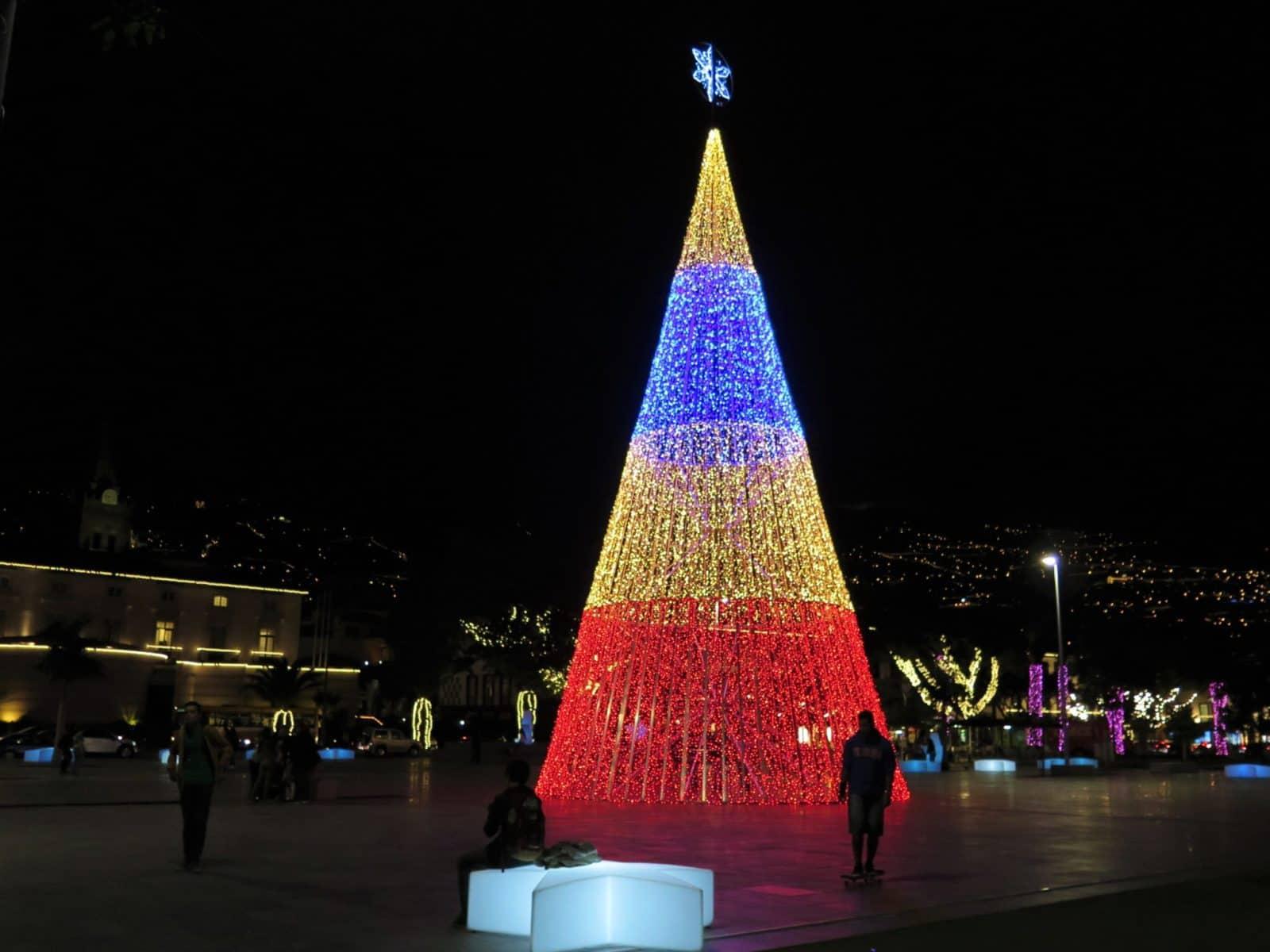 Hra svetiel, Funchal, Madeira, Jana Kristekova