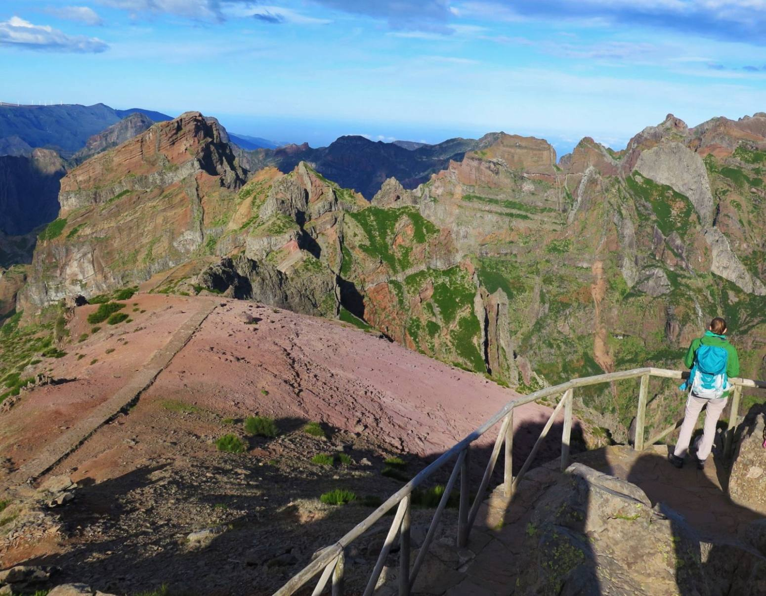 Turisti na Pico do Arieiro, Madeira, Jana Kristekova